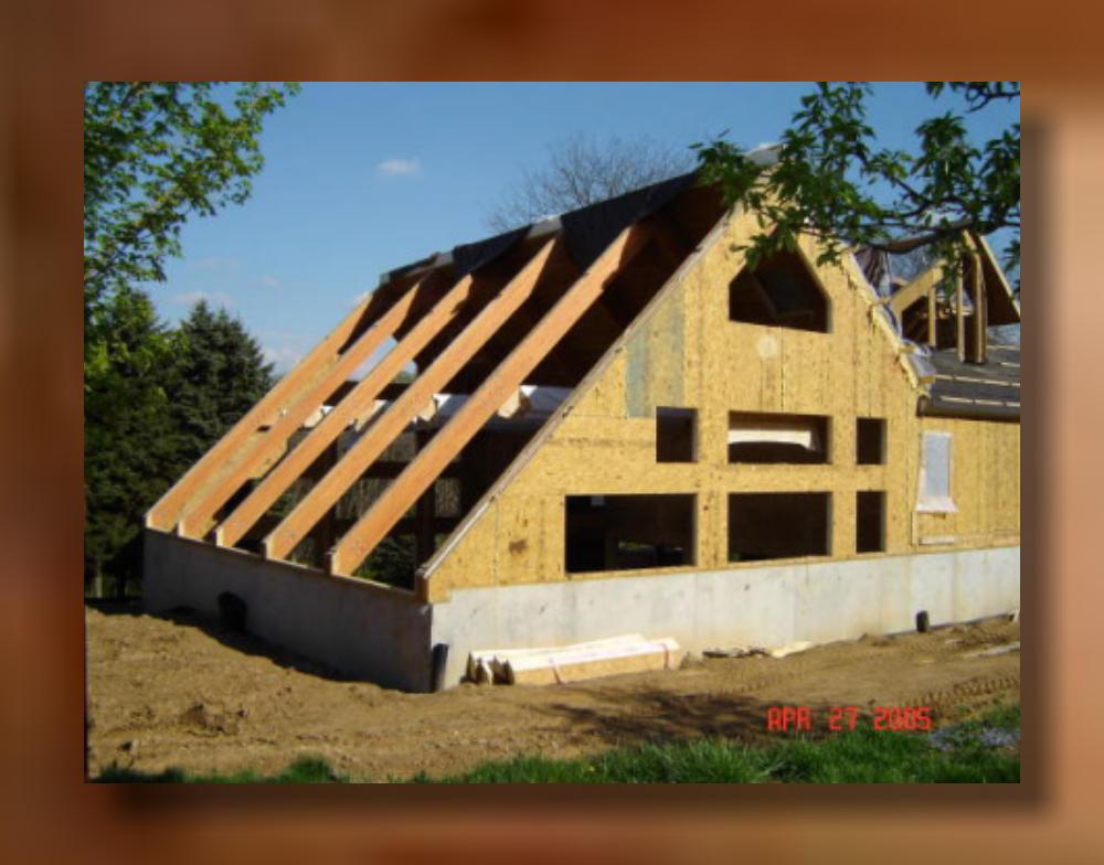 Berks County Pa Glu Lam Truss Roof System